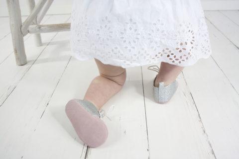 sparkle rose , baby, baby schoenen, baby oxford, baby slofjes
